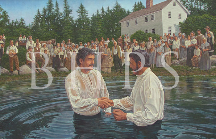 The Baptism of Daniel Merrill
